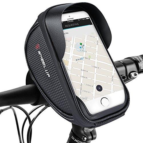JayTop Fahrrad Handyhalterung, Fahrrad Lenkertasche Fahrradtaschen Rahmentaschen Wasserdicht Handyhalter Fahrrad Tasche Fahrradlenkertasche für bis zu 6.0 Zoll Smartphone
