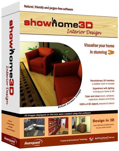 Avanquest Software Showhome 3D Interior Designer