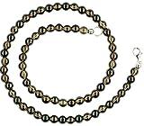 Rauchquarz Schmuck (Halskette) Rauchquarz Kette Verschluss 925er Sterling-Silber Modellnummer 043