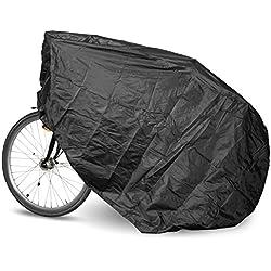"""Funda de bicicleta en bolsa de transporte - tamaño """"L"""", aproximadamente 190 x 110 x 80 cm - Funda de uso general para bicicletas estáticas y vehículos de dos ruedas"""
