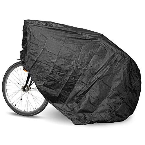 """Fahrradabdeckung im Tragebeutel - Größe """"L"""", ca. 190 x 110 x 80 cm - Allzweckabdeckung für Heimtrainer und Zweiräder"""