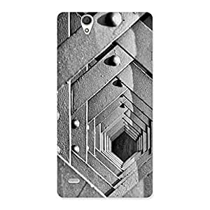 Impressive Block Cage Back Case Cover for Sony Xperia C4