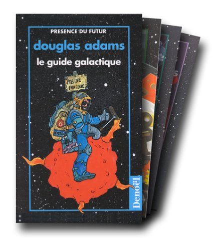 Le Guide galactique (coffret en 5 volumes) par Douglas Adams