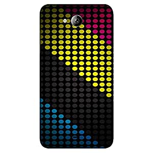 Bhishoom Printed Hard Back Case Cover for Micromax Canvas Play Q355 - Premium Quality Ultra Slim & Tough Protective Mobile Phone Case & Cover