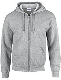 HeavyBlend™ full zip hooded