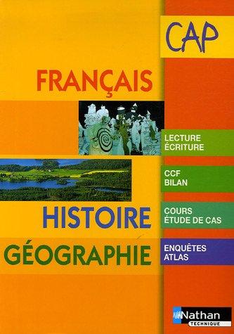 Français Histoire Géographie CAP