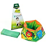 ComfyDo Disposable and Foldable Travel Potty (Jungle Fun)