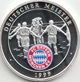 Medaille FC Bayern München Polierte Platte Deutscher Meister 1999 (Münzen für Sammler)