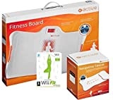 Fitness Board - Balance Board pour Nintendo Wii Blanc + Wii Fit Plus
