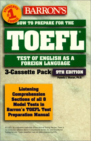 HOW TO PREPARE FOR THE TOEFL PACK 3 CASSETTES. 9th Edition