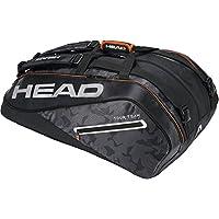 Head Tour Team 12R Supercombi Raqueta de Tenis Bolsa, Color Negro/Plata, tamaño n/a