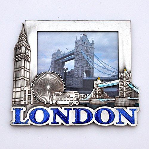 London Bilderrahmen Holz Great Britain Tower Bridge Eye Bus Telefon ...