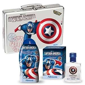 Marvel Captain America Body and Fragrance Gift Set