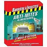Barriere A Insekten barmita Motten Lebensmittel–Schutzhülle 1Falle rot 11,8x 1.4x 14cm