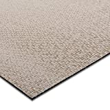 casa pura® Indoor- und Outdoor-Bodenbelag Verona | kunstvoll gewebt | als Teppich oder Läufer | 40 Größen (90x100cm)