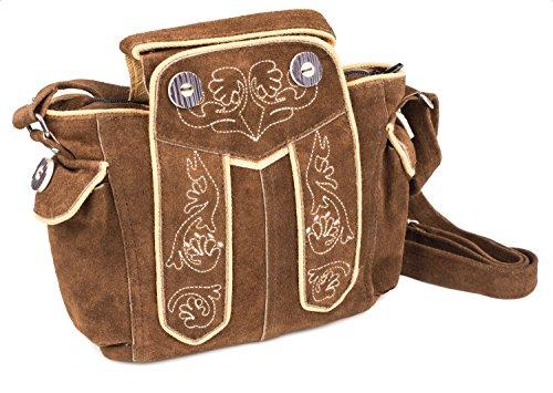 Damen Trachtentasche Toni (braun)