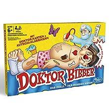Hasbro- Dr. Bibber – Il duello delle Mani tranquille, Classico Gioco prescolare, B2176398