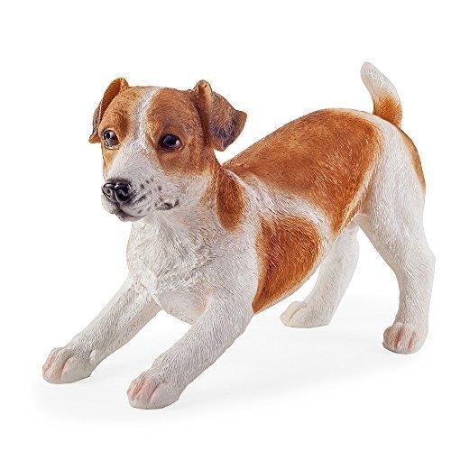 ACE La Playful Jack Russell cane statuetta da giardino o casa decorazione