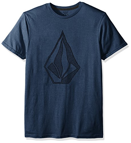 Volcom Men's Creep Stone T-shirt Herren Blau Casual