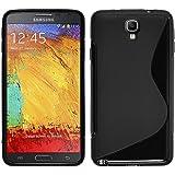 Carcasa blanda para Samsung Galaxy Note 3Neo SM-N7505 de Hcn Phone® S-Line TPU Gel Silicona, compatible con Samsung Galaxy Note 3