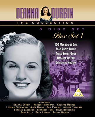 Deanna Durbin Box Set Vol. 1: 100 Men & A Girl / Mad About Music / Three Smart Girls / Because of Him and Christmas Holiday [DV