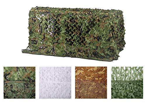 Chiglia Filet de Camouflage 2 m X 3 m Woodland Couverture Camouflage Filet Net