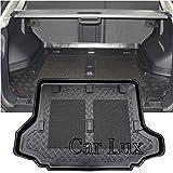 Car Lux ar01676- Tapis Couvre plateau cuve Protecteur Coffre à mesure avec...