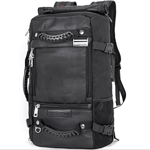 HM3287 Outdoor Bergsteigen Tasche, multifunktionale Outdoor-Reise Gepäck Camping Rucksack, Laptop Rucksack für 15 Zoll oder weniger Laptop, Unisex große Kapazität Wandern Rucksack, schwarz ( Size : M ) (Bookbag Wickeltasche Für Mädchen)