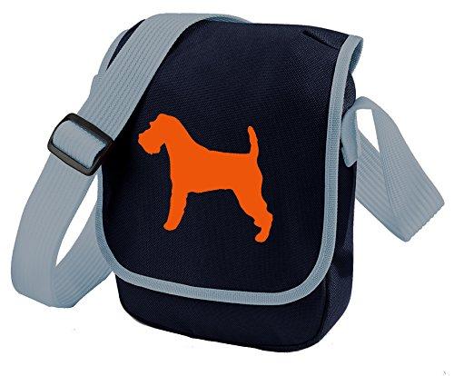 Bag Pixie - Borsa a tracolla unisex adulti Orange Dog Blue Bag