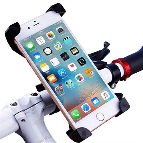 Upxiang Telefon GPS Lenker Halter für Xiaomi Mijia M365 360 Zubehör, Motorrad Fahrrad Elektroroller Ersatzteile Universal Smartphone Halterung-360 Grad Drehbarer (A) (Scooter Mobile)