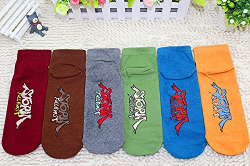 Japanese Anime Naruto Socks 6 Pairs,Size 3-7