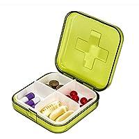 Médecine domestique fort grande boîte de rangement Trousse de premiers soins de la famille des drogues médicales fort tri Multi-layer boîte de rangement en plastique Medical kit portable,1 tenues vert