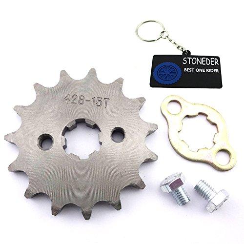 stoneder 15Zähne 42817mm vorne Kettenrad Gear für 50cc 70cc 90cc 110cc 125cc 140cc 150cc 160cc Motor ATV Quad Pit Dirt Trail Bike -