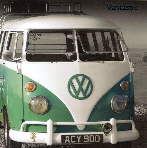 VW Camper Vantastic Grußkarte, innen unbedruckt Pigment Foto-Grußkarten