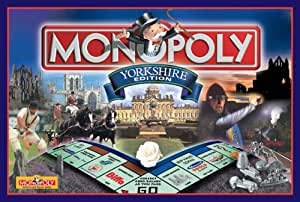 Winning Moves Monopoly - Yorkshire Edition