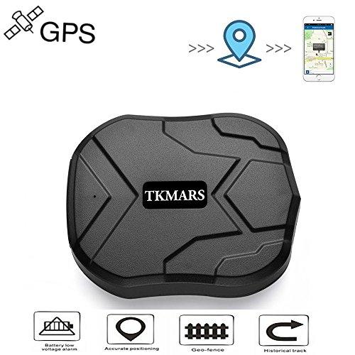 Tkmars GPS Tracker localizador GPS en tiempo real Localizador SMS Online 5000 mAh 90 días Standby magnético impermeable dispositivo Crawler traccia Manual App gratuita GPS Tracker