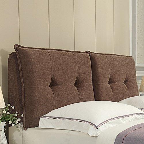 Zfgg cuscino per comodino cuscino per letto matrimoniale cuscino grande in vita cuscino imbottito cuscino per divano letto, multifunzione, imbottitura in spugna, 5 colori, 14 misure optional