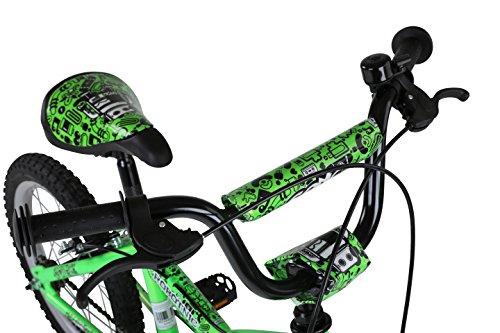 Sonic Robotnic Boys Junior Bike – Green, 16 Inch