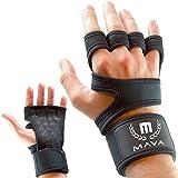 Mava Sports 2in1 Trainingshandschuhe - Fitnesshandschuhe mit Handgelenkstütze Für Damen & Herren | Fitness, Crossfit & Gewichtheben