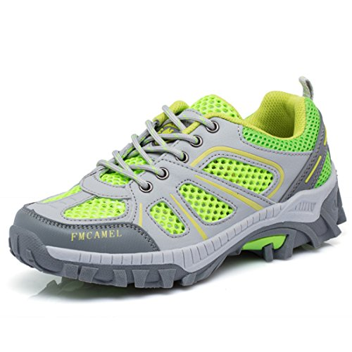 Men's Waterproof Breathable Outdoor Hiking Shoes green