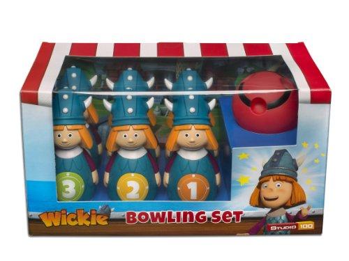 Preisvergleich Produktbild Studio 100 MEVI00000480 - Wickie und die starken Männer: Bowling-Set