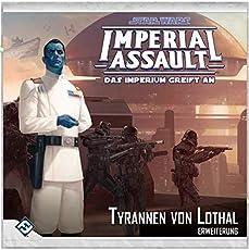 Asmodee FFGD4546 SW: Imperial Assault - Tyrannen von Lothal, Erweiterung