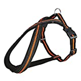 Trixie Fusion Touring Hunde Geschirr (M-L) (Schwarz/Orange)
