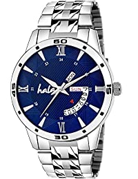 Hala 2052-BL Blue Day and Date Day and Date Watch - Men