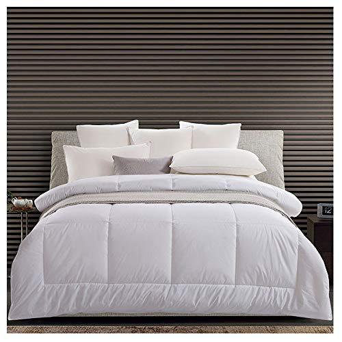 MIAO Baumwolle Quilt Wird durch die Vier Jahreszeiten von Volltonfarbe Quilt Hotel Bettwäsche entkernt,Summer Quilt (200g/m2)-1.5m Bed (190 * 220) -