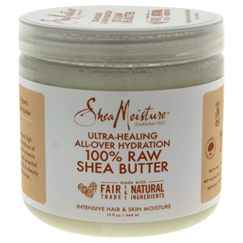 SHEA MOISTURE U-BB-2775 100% Raw Shea Butter Intensive Hair & Skin Moisture