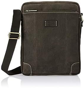 Ruosh Leather Brown Messenger Bag (551200102)