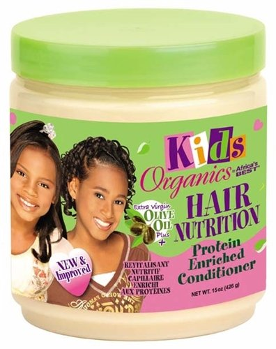 Africa's Best Conditionneur Kids Organics Riche en protéines 444 ml