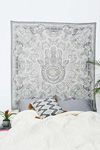 Hand Art Fatima Hamsa Design Frieden Mantra Seele Meditation Wand-Dekor-Tapisserie