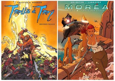 2 BD pour le prix d'1 : Trolls de Troy, tome 1 + Moréa, tome 1